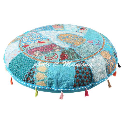 Ethnic Patchwork Floor Cushion